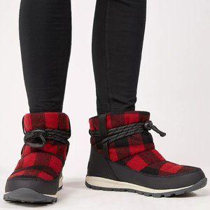 Sorel Whitney Short Buffalo Plaid Boot